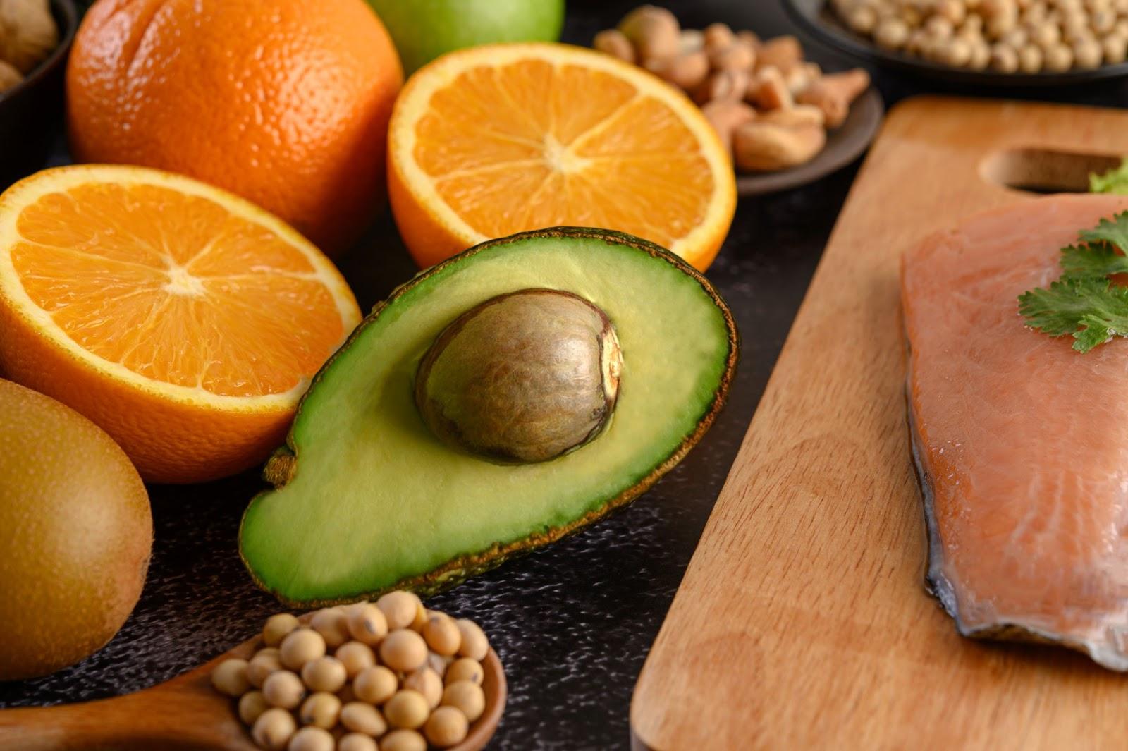 frutas vitamina D